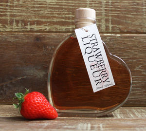 Strawberry Vodka Love Heart - wines, beers & spirits