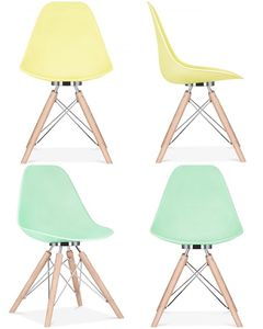 Spring Pastel Milano Dining Chair Set Two - summer sale
