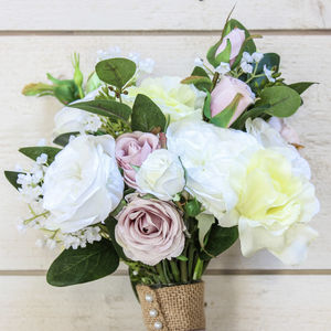 The Isabelle Artificial Flower Bridal Bouquet - flowers