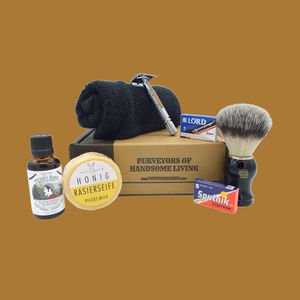 Classic Gentleman's Shaving Kit - men's grooming & toiletries