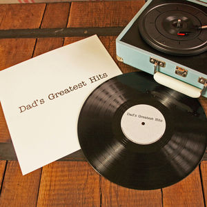 Personalised Seven Inch Vinyl Record - music-lover