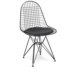Chair Metal Eames Style Dkr Wire Mesh Chair - dining room