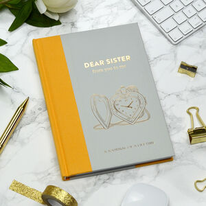 Timeless Collection 'Dear Sister' Memory Journal