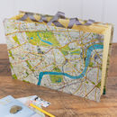 Personalised London Map Travel Organiser File