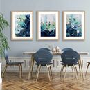 Abstract Landscape Print Set Of Three