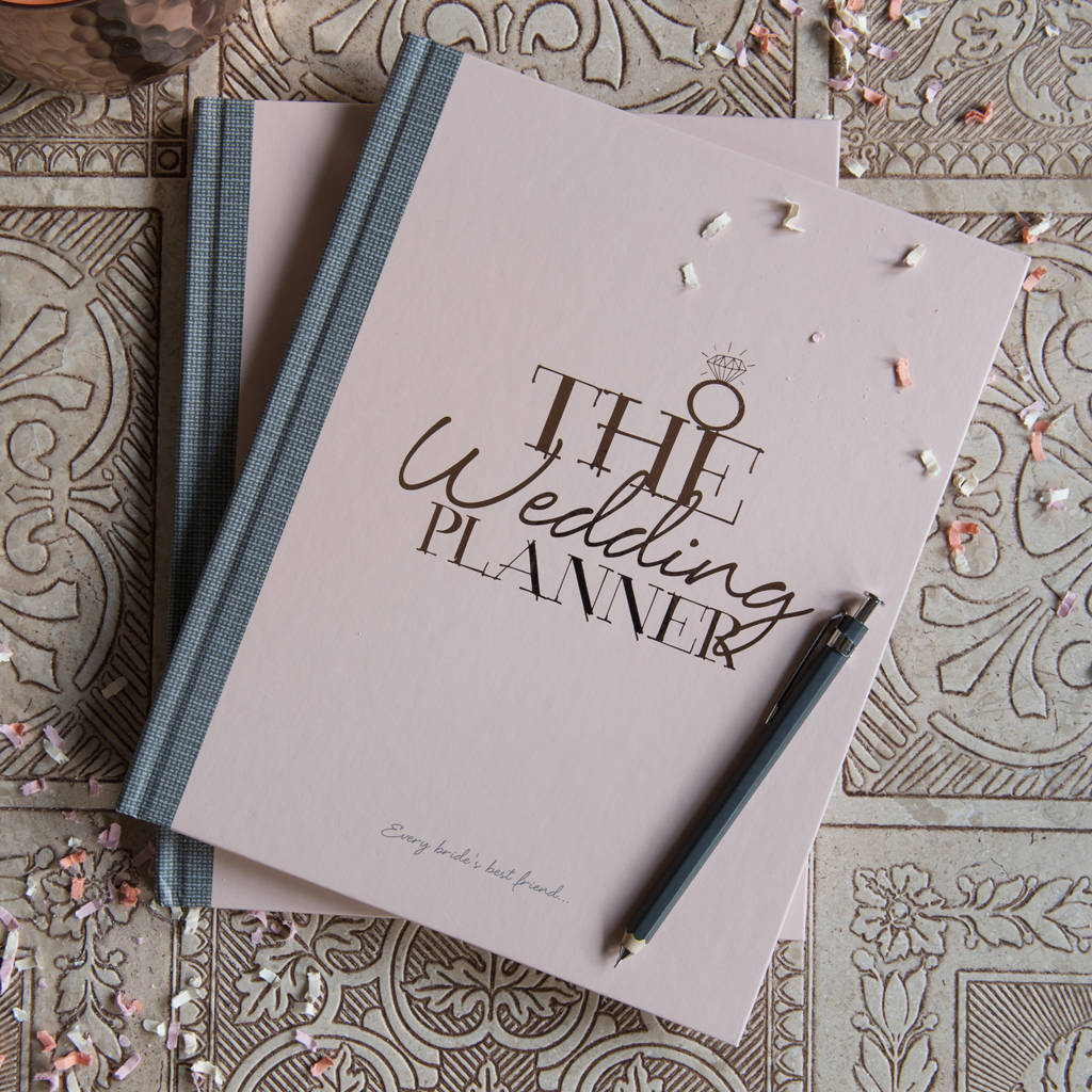wedding planner notebook and journal by illustries. Black Bedroom Furniture Sets. Home Design Ideas