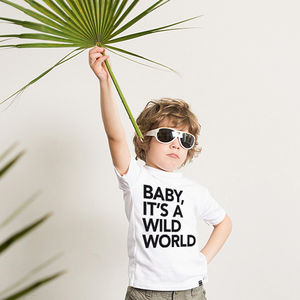 'Wild World' T Shirt