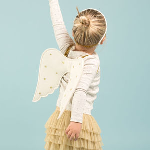 Angel Wings Nativity Dress Up Set
