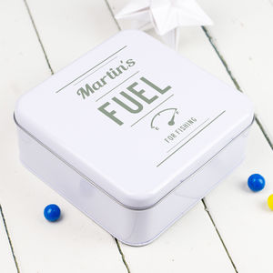 Personalised Hobby Tin - lunch boxes & bags