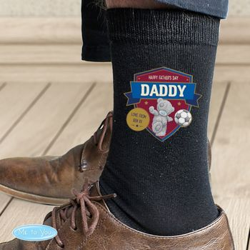 Personalised Football Socks Men