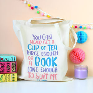 C.S Lewis Quote Tote Bag