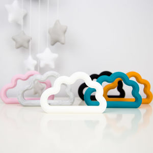 Silicone Cloud Teether - teethers