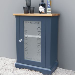 Gin And Tonic Drinks Cabinet In Choice Of Colours - cabinets