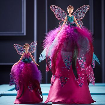 Bright Pink Fairy Tree Topper