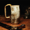 Hand Crafted Organic Horn Tankard