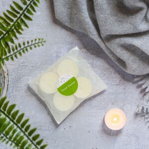 Eight Sweet Jasmine Soy Wax Tealights