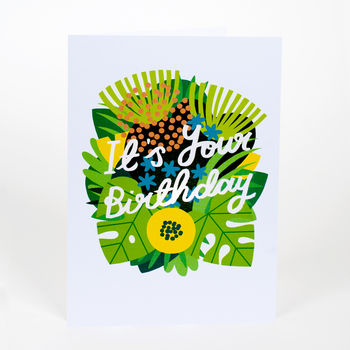 It's Your Birthday Bouquet Card