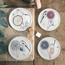 Dandelion And Birdy, Bone China Coasters