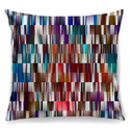 Colourful Geomtric Designer Cushion + Waterproof