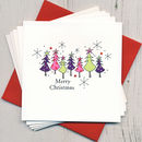 Pack Of Five Christmas Cards