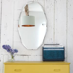Deco Bevel Edged Vintage Mirror