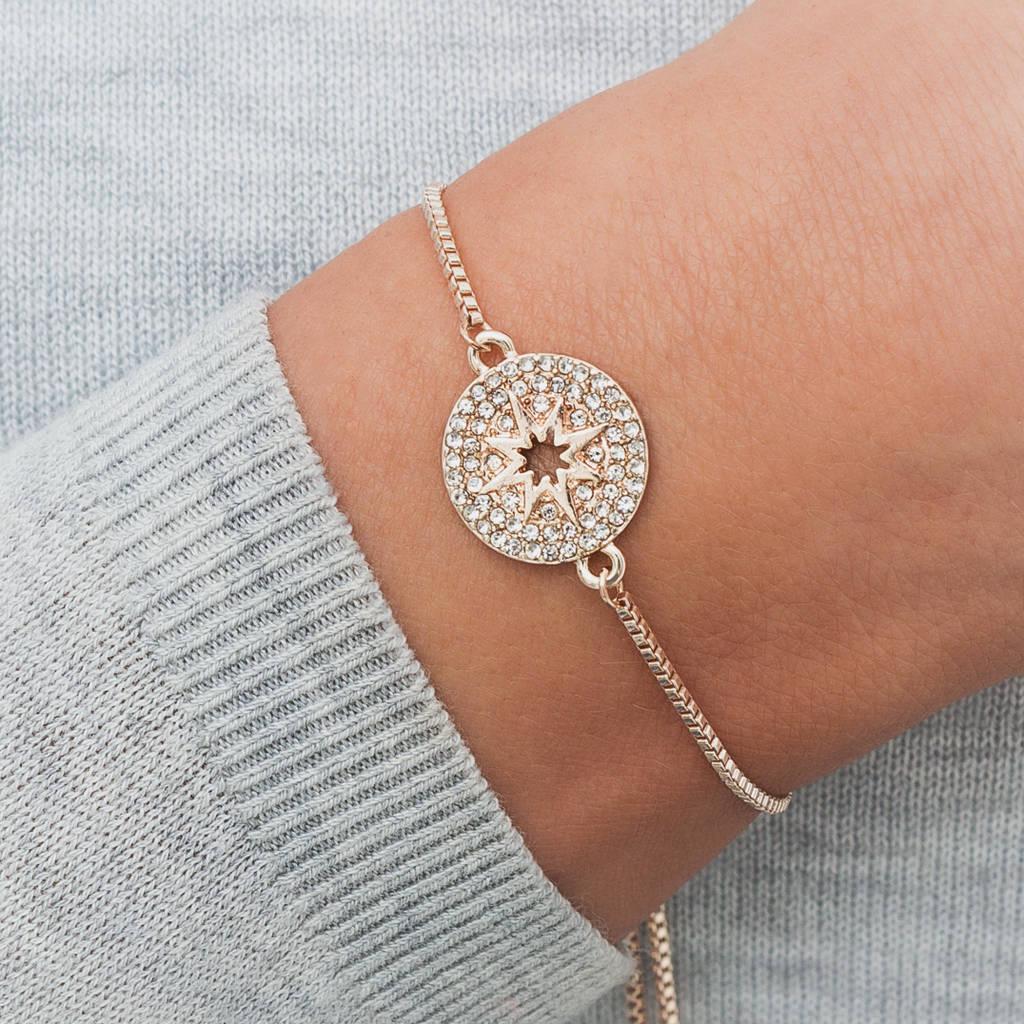 Personalised Life Compass Bracelet
