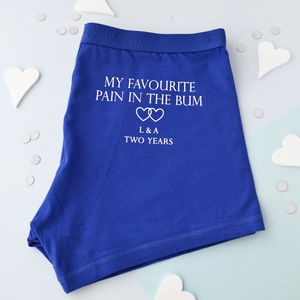 Favourite Pain In The Bum Personalised Underwear - underwear & socks