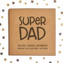 Super Dad Underpants Square Card