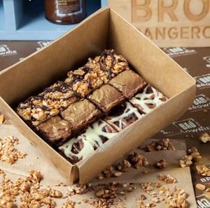 'Best Bites' Selection Box Of 12 Chocolate Brownies - cakes & sweet treats