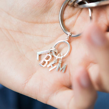 Personalised Family Initials Keyring
