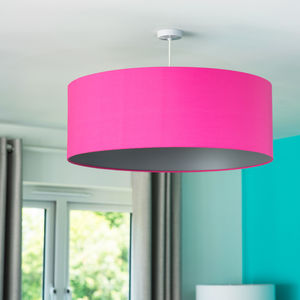 Oversize Pick And Mix Ceiling Pendant Shade 25 Colours