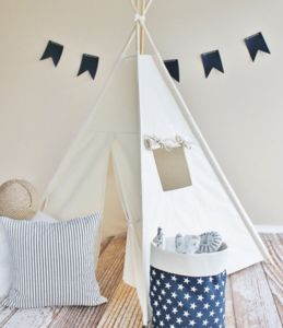 Canvas Play Tent Teepee - summer activities