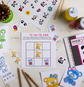 Personalised Panda Activity Bundle