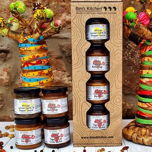 African Inspired Sauce Gift Set - shop by price