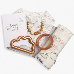 Luxury Christmas Cloud Teething Hamper