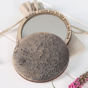 I Love You To The Moon And Back Compact Pocket Mirror
