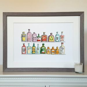 Medicine Bottles T Rex Limited Edition Print - new in