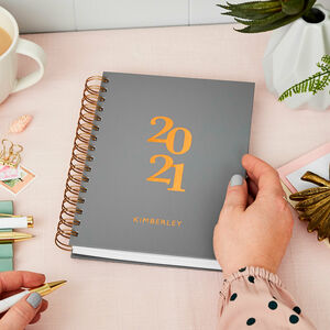 Personalised Original 2021 Weekly Diary