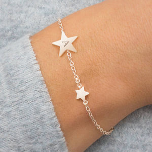 Evie Personalised Star Bracelet - for friends