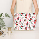 Christmas Robin Personalised Wrapping Paper