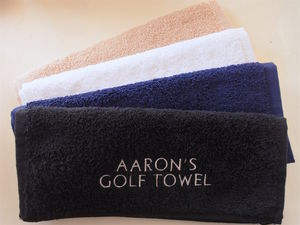 Personalised Golf Towel - handkerchiefs