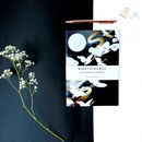 Moonlight Cranes A5 Notebook With Lined Pages