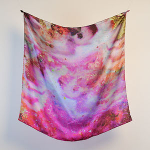 'Nymph' Silk Scarf - scarves