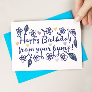Happy Birthday From Bump Card