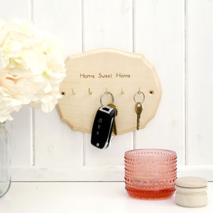 Personalised Key Holder - gift bags & boxes