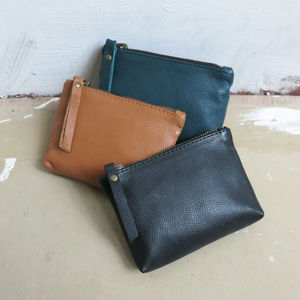 Leather Naya Zip Purse