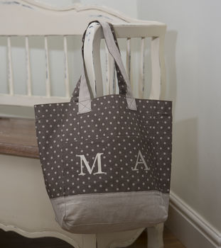 Chocolate Brown Spot Bag