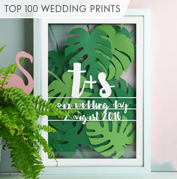 top 100 wedding prints