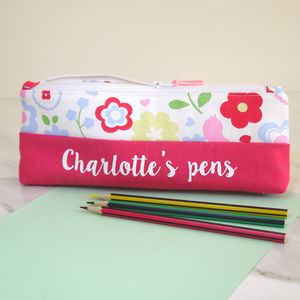 Personalised Pencil Case - pens, pencils & cases