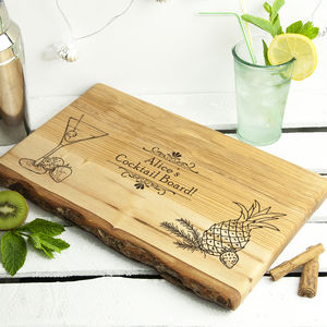 Personalised Cocktail Cutting Board